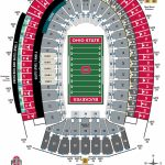Ohio Stadium Seating Chart – Ohio State Buckeyes   University Of Florida Football Stadium Map