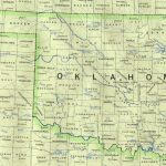 Oklahoma Maps   Perry Castañeda Map Collection   Ut Library Online   Road Map Of Texas And Oklahoma