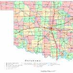 Oklahoma Printable Map   Oklahoma State Map Printable