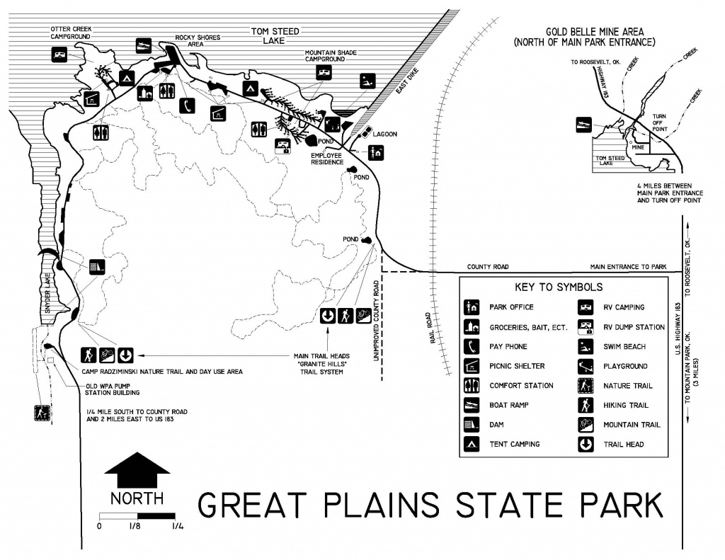 Oklahoma State Parks - Campsite Reservation System - Texas State Parks Camping Map