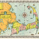 Old Cape Cod Map Download Colorful 1939 Cape Cod Mass   Etsy   Printable Map Of Cape Cod Ma