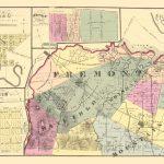 Old County Map   Fremont California Landowner 1876   Fremont California Map