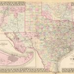 Old Historical City, County And State Maps Of Texas   Free Old Maps Of Texas