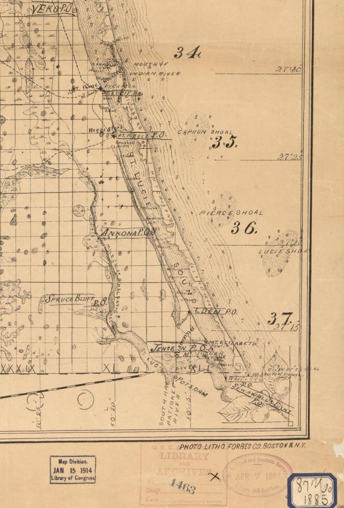 Old Maps | Jacqui Thurlow-Lippisch - Hutchinson Florida Map