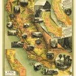 Old State Map   California Illustrated Map   Jones 1898   Illustrated Map Of California