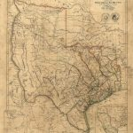 Old Texas Wall Map 1841 Historical Texas Map Antique Decorator Style   Republic Of Texas Map Framed