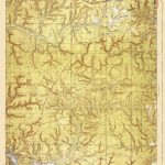 Old Topographical Map   Niceville Florida 1936   Niceville Florida Map