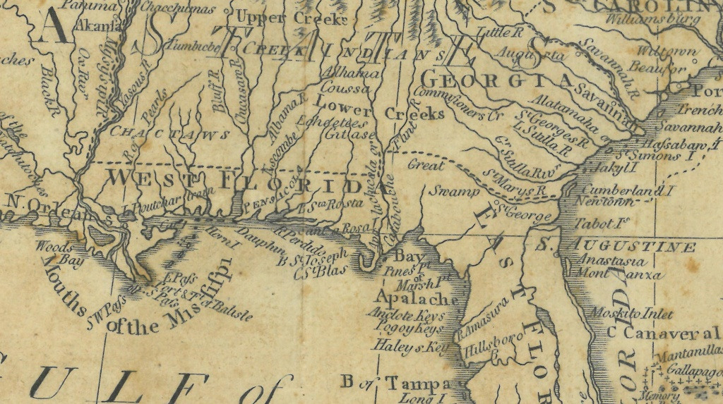 On The Border, Part Ii | The Florida Memory Blog - Florida North Map