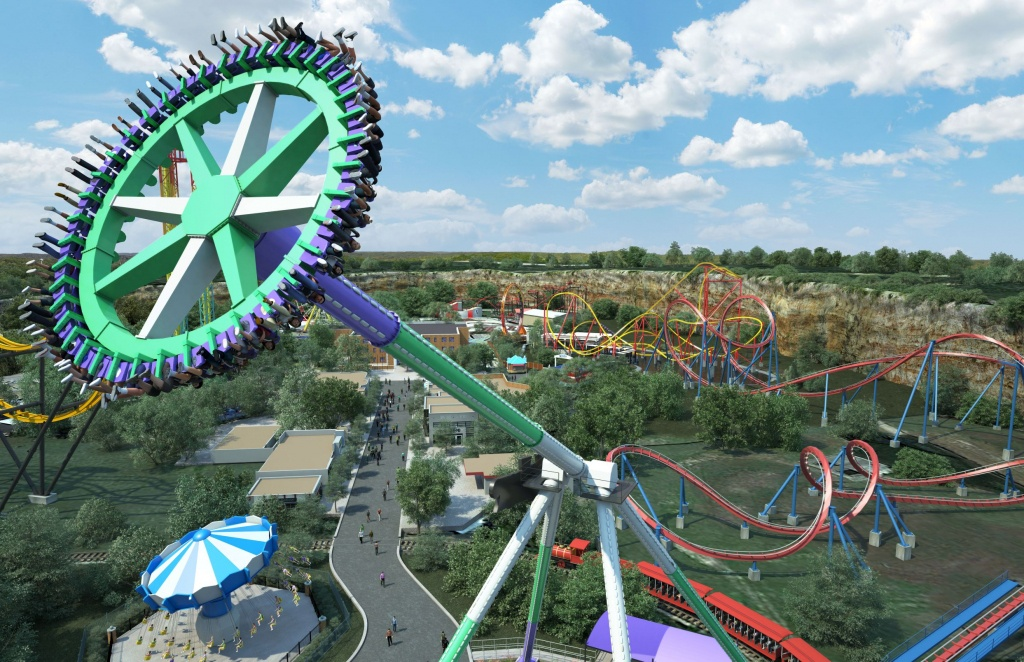 One Of The Tallest Pendulum Rides Coming To Six Flags In 2019 | Six - Six Flags Fiesta Texas Map 2018