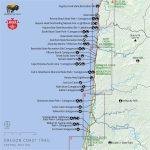 Oregon Coast Map Pdf | Secretmuseum   Oregon California Coast Map