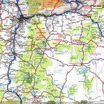 Oregon Road Map   Free Printable Road Maps
