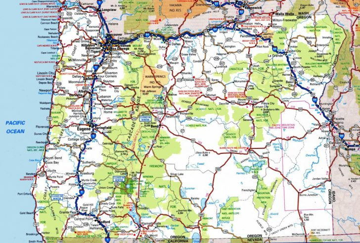 Printable Road Maps By State