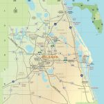 Orlando Area Map   Printable Map Of Orlando