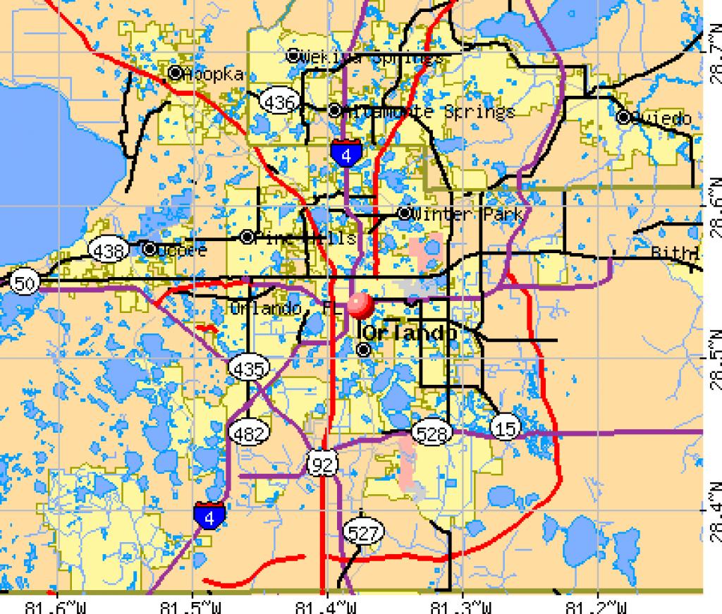 Orlando Florida Map   Orlando Florida Map   Florida!   Florida - Map Of Orlando Florida Area