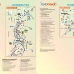 Orlando International Drive Hotel Map   Map Of Orlando Florida International Drive