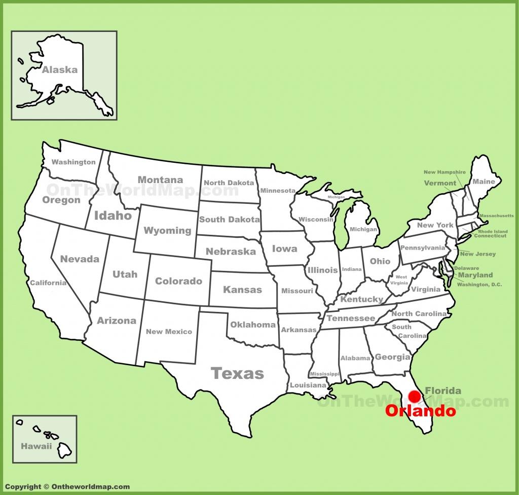 Orlando Maps   Florida, U.s.   Maps Of Orlando - Map Of Florida Near Orlando