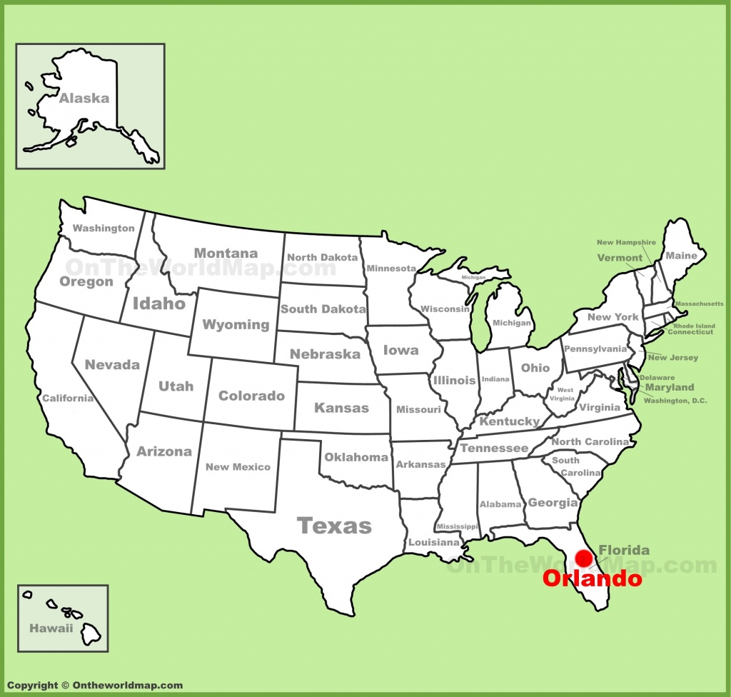 Orlando Maps | Florida, U.s. | Maps Of Orlando - Orlando Florida Location On Map