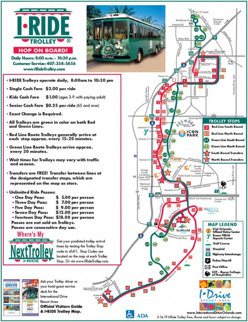 Orlando Maps - Maps Of I-Drive - International Drive Resort Area - Google Maps Orlando Florida Street View