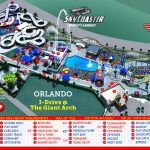 Orlando Park Map   Theme Park Map - Orlando Florida Theme Parks Map