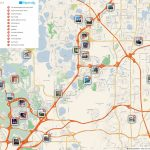 Orlando Printable Tourist Map In 2019 | Free Tourist Maps   Florida Attractions Map