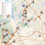 Orlando Printable Tourist Map In 2019 | Free Tourist Maps   Orlando Florida Attractions Map