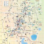 Orlando Theme Parks Map - Map Of Orlando Theme Parks (Florida - Usa) - Orlando Florida Theme Parks Map