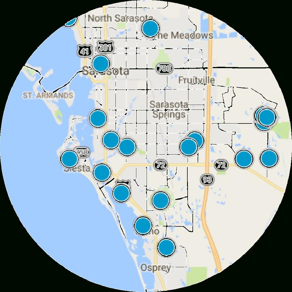 Osprey Real Estate | Osprey Homes For Sale - Osprey Florida Map