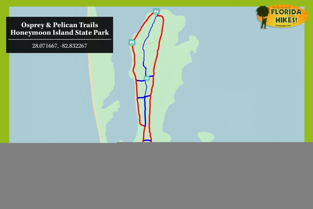 Osprey Trail | Florida Hikes! - Osprey Florida Map