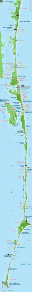 Outer Banks Map - Outerbanks - Printable Map Of Outer Banks Nc