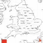 Outline Map Of England   Berkshireregion   Outline Map Of England Printable