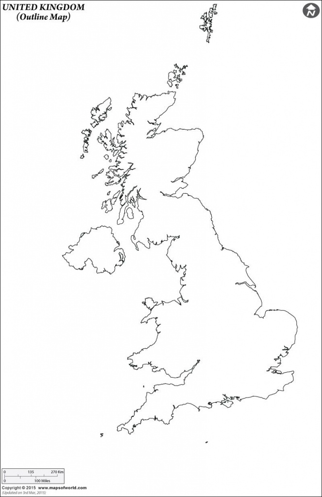 Outline Map Of United Kingdom   Art Projects   Map, Map Outline - Uk Map Outline Printable