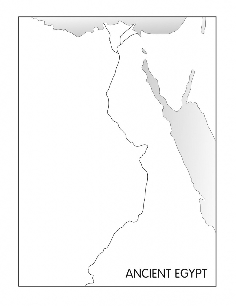 Outline Maps: Ancient Egypt And Greece | Social Studies | Egypt Map - Ancient Egypt Map Printable