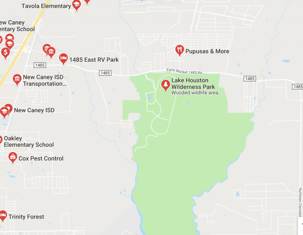 Own A Piece Of Montgomery County, Texas! Perfect For Recreation - New Caney Texas Map