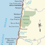Pacific Coast Route: Oregon | Road Trip Usa   Oregon California Coast Map