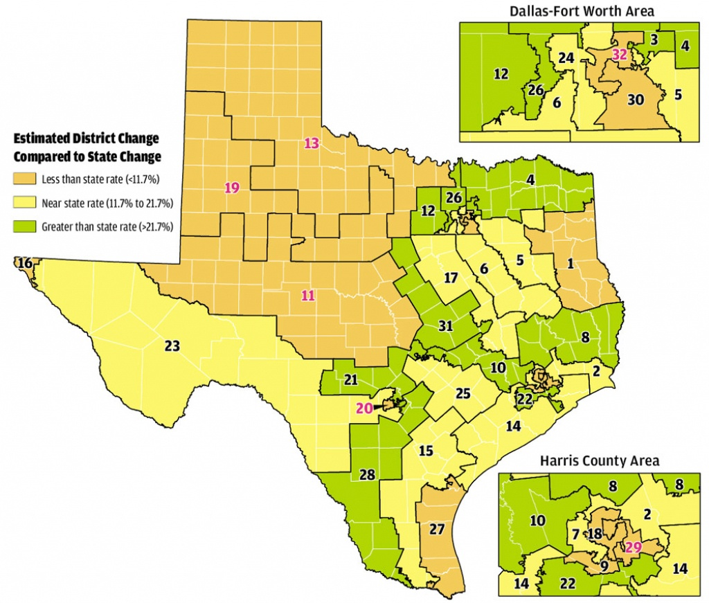 Paintingnumbers: It's Redistricting Time Again! Wherein We - Texas Us Congressional District Map