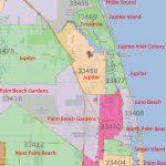Palm Beach Gardens, Jupiter Florida Real Estatezip Code   Map Of Palm Beach County Florida