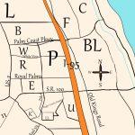 Palm Coast's Crazy Sections – I Love Palm Coast   Map Of Palm Coast Florida Area