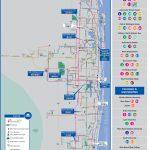 Palm Tran Bus Service - Lake Worth Florida Map