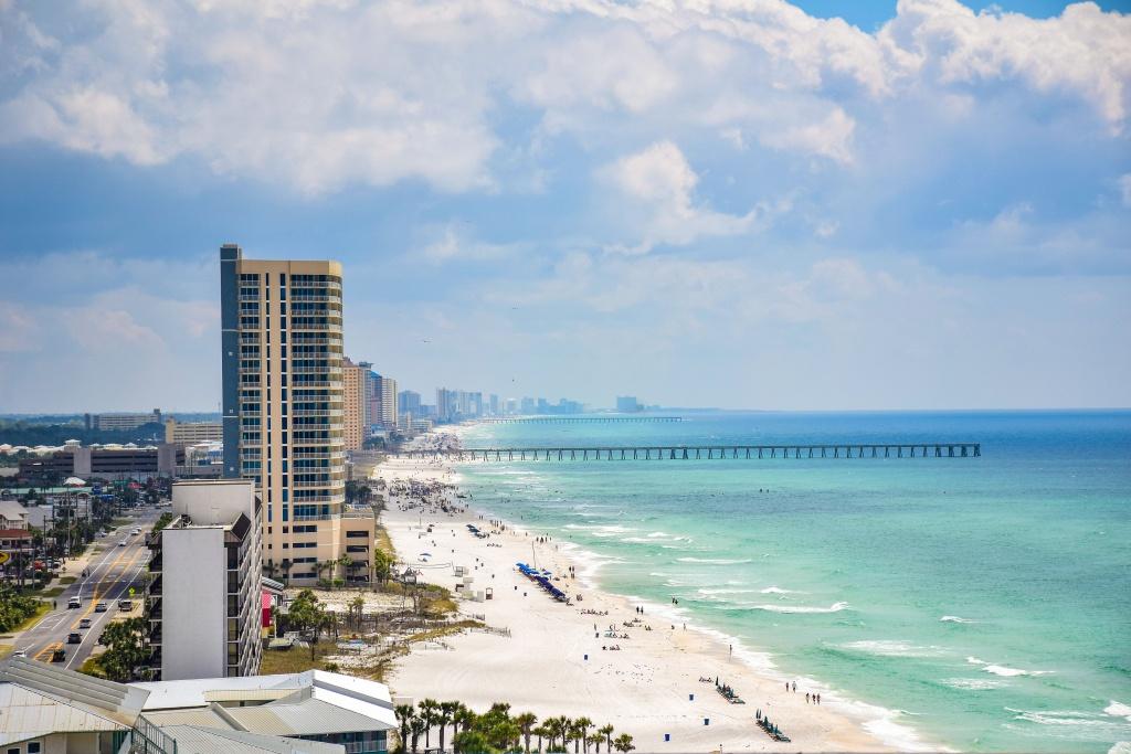 Panama City Vs. Panama City Beach: What's The Difference? - Coastal - Panama Beach Florida Map