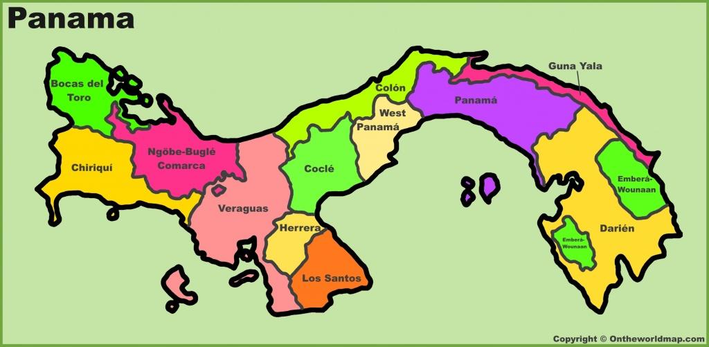 Panama Maps | Maps Of Panama - Printable Map Of Panama
