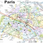 Paris Attractions Map Pdf   Free Printable Tourist Map Paris, Waking   Free Printable Map Of Paris