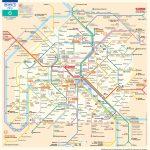 Paris Metro Map – The Paris Pass - Printable Map Of Paris France