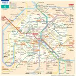 Paris Metro Map – The Paris Pass – Printable Rome Metro Map