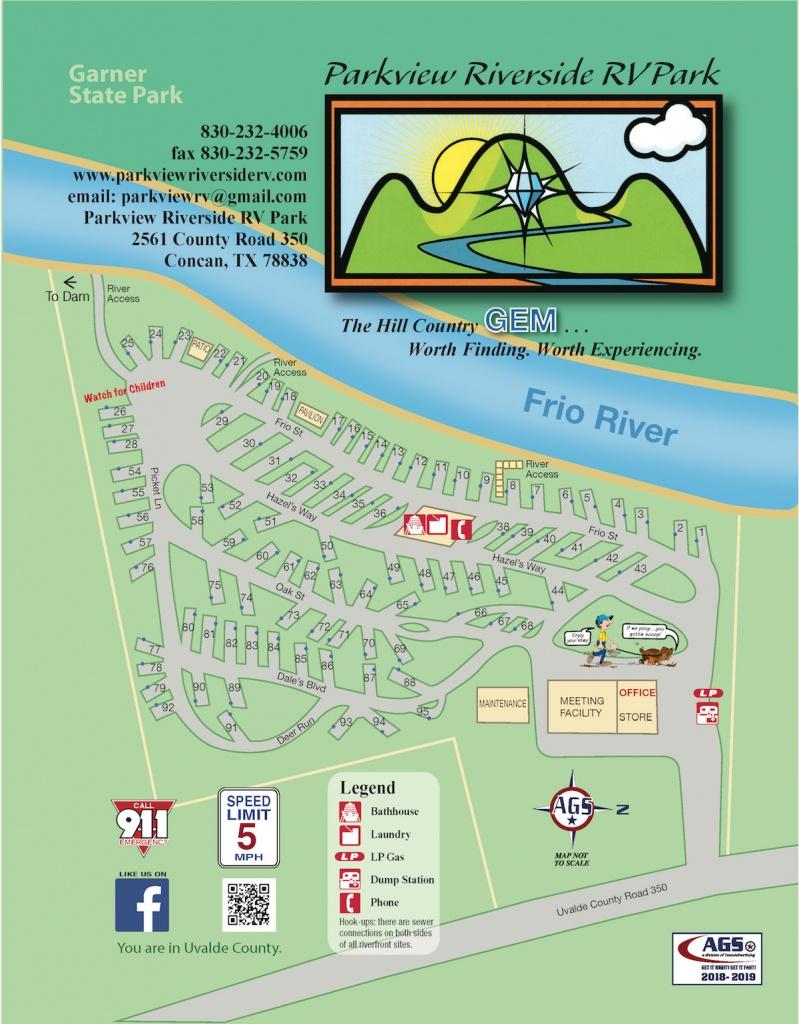 Parkview Riverside Rv Park   South Texas Rv Park And Camping - South Texas Rv Parks Map