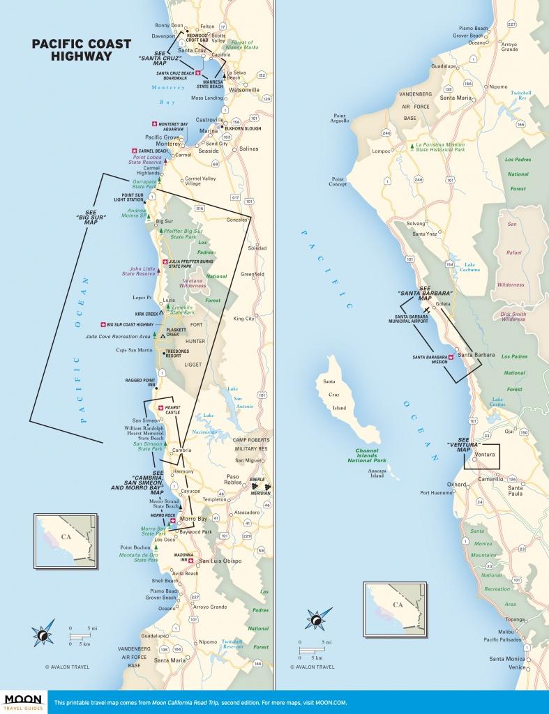 Pch In California: Pacific Coast Highway Beaches | Road Trip Usa - Beach Map Of California