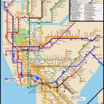 Pdf Large Printable Nyc Subway Map   Printable New York Subway Map