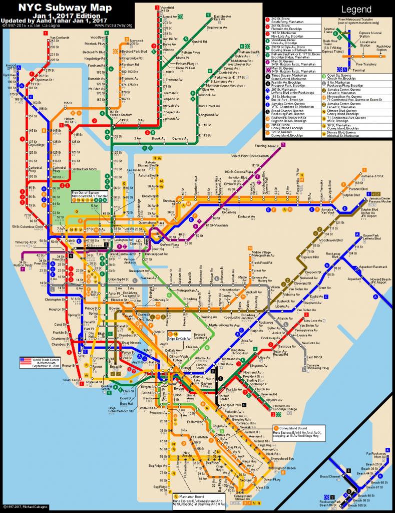 Pdf-Large-Printable-Nyc-Subway-Map - Printable New York Subway Map