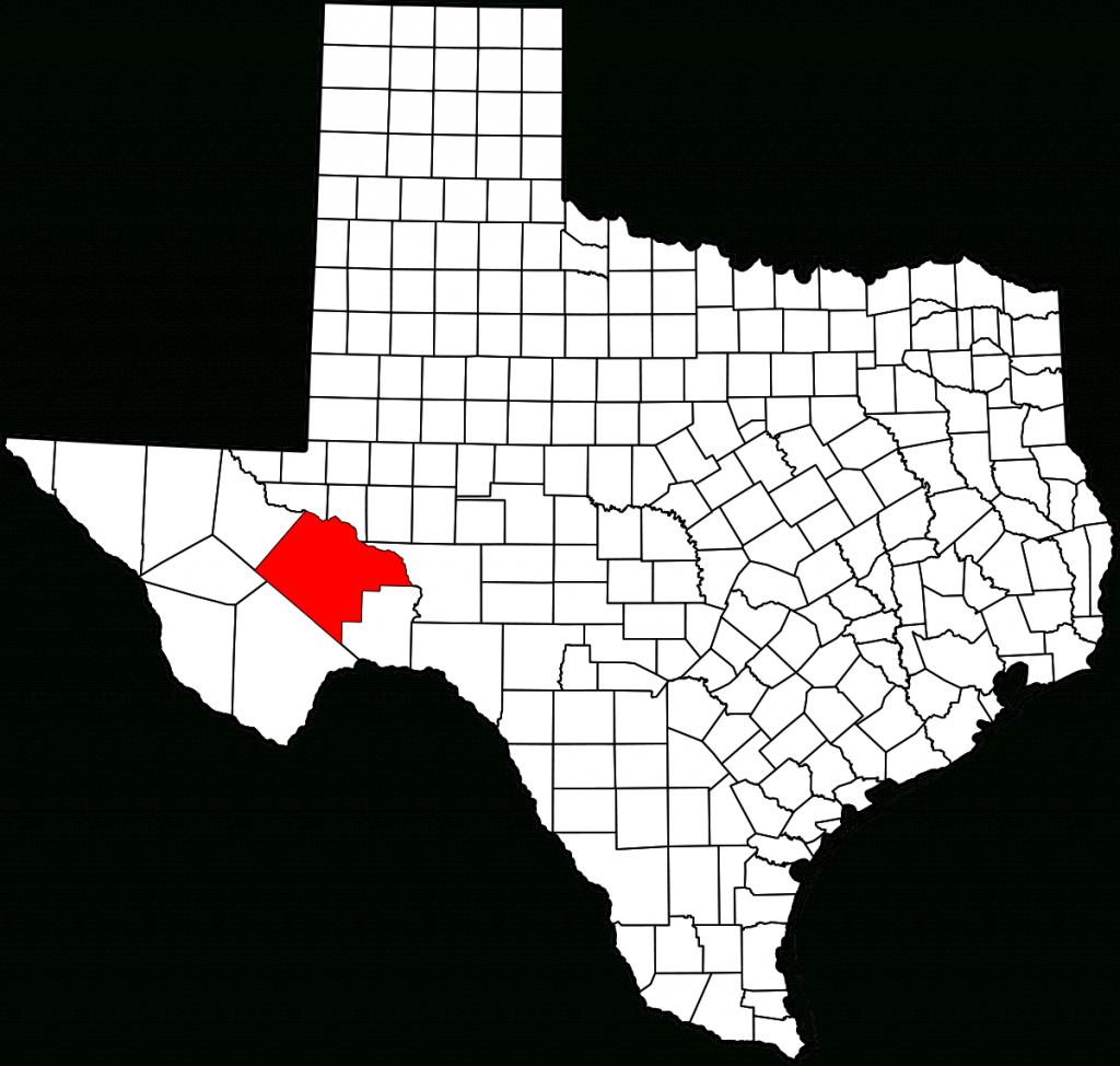 Pecos County, Texas - Wikipedia - Pecos Texas Map