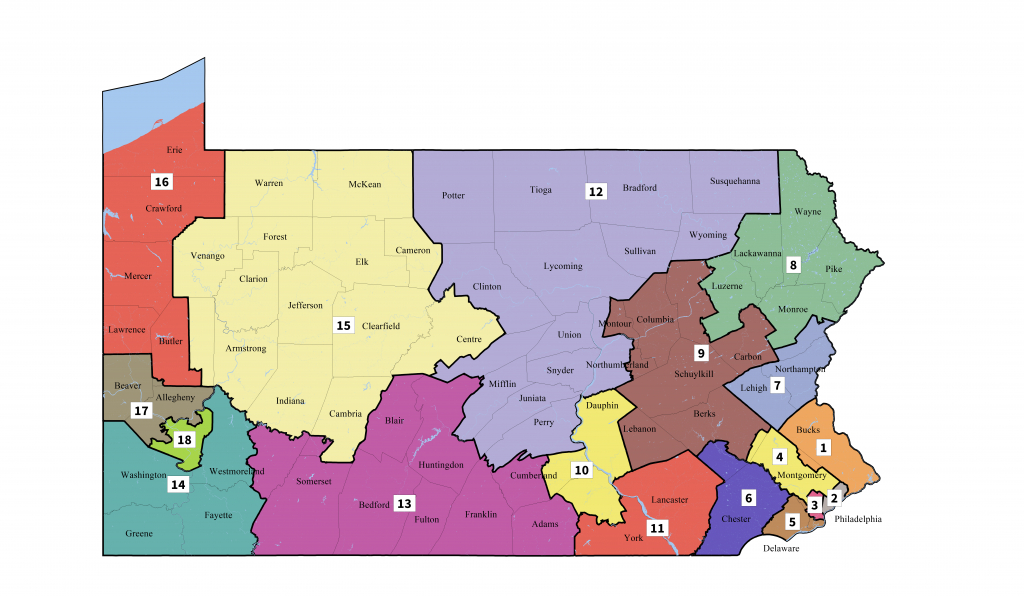 Pennsylvania's Congressional Districts - Wikipedia - Texas State District Map