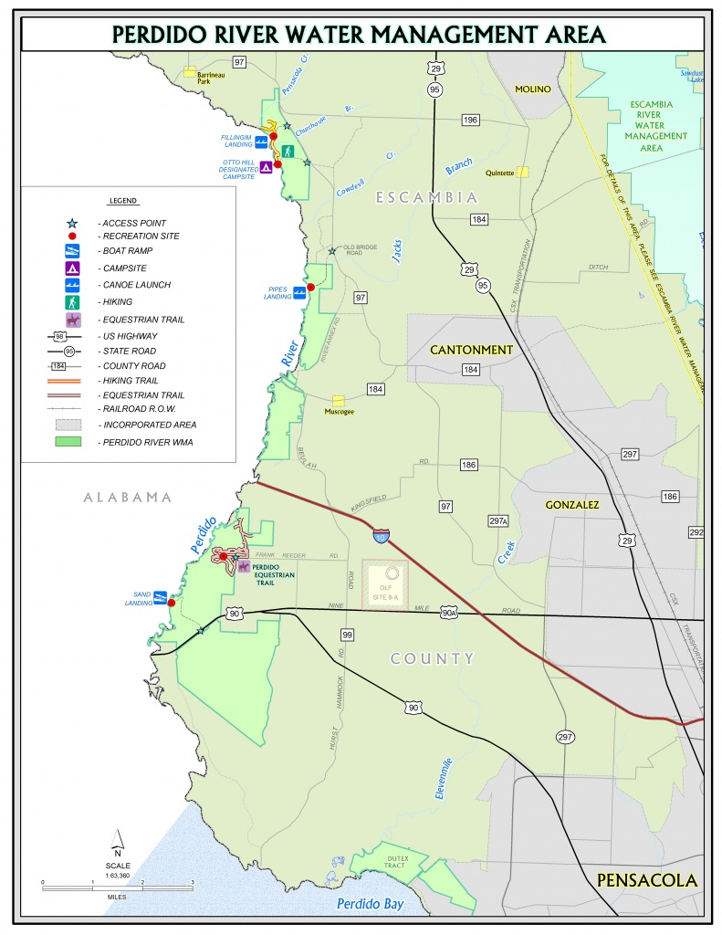Perdido River | Northwest Florida Water Management District - Florida Paddling Trail Maps